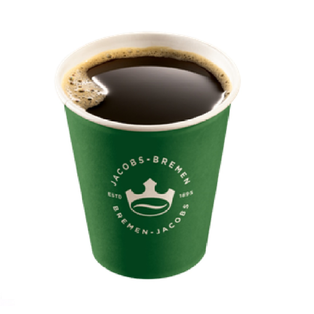 Coffee-To-Go Becher Hartpapier 0,2 ltr. Design Jacobs to Go 1000 Stk.