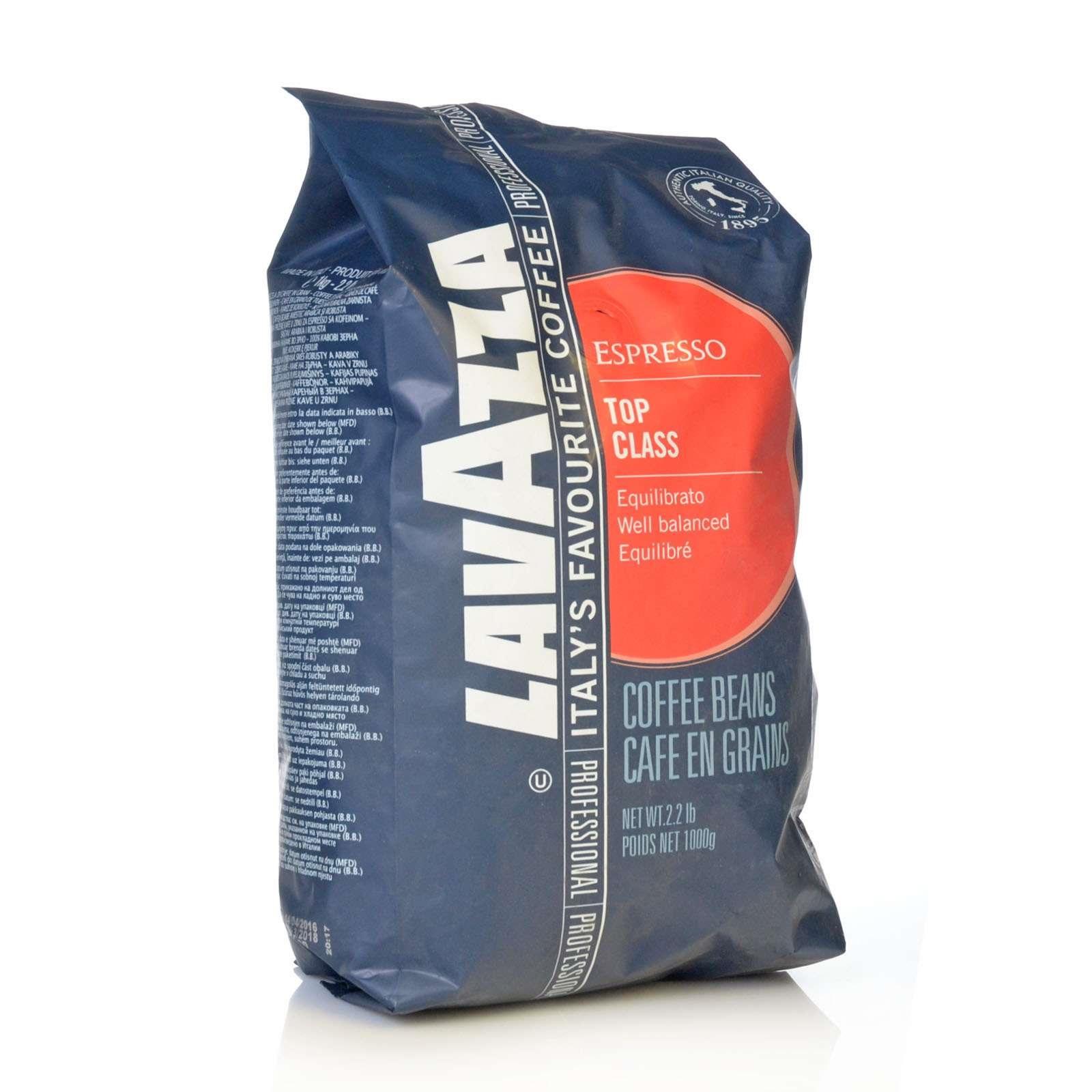 Lavazza Espresso Top Class 1kg ganze Bohnen