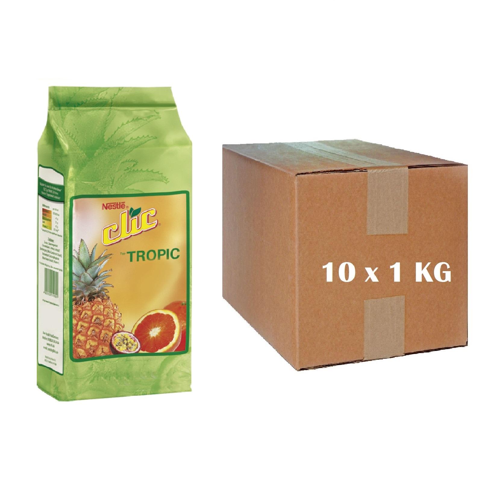 Nestlé Clic Typ Tropic - Karton 10 x 1Kg Instant Tee