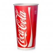 coca cola becher trinkbecher 50 kaltgetr nkebecher 800 ml 0 8 l pappbecher ebay. Black Bedroom Furniture Sets. Home Design Ideas