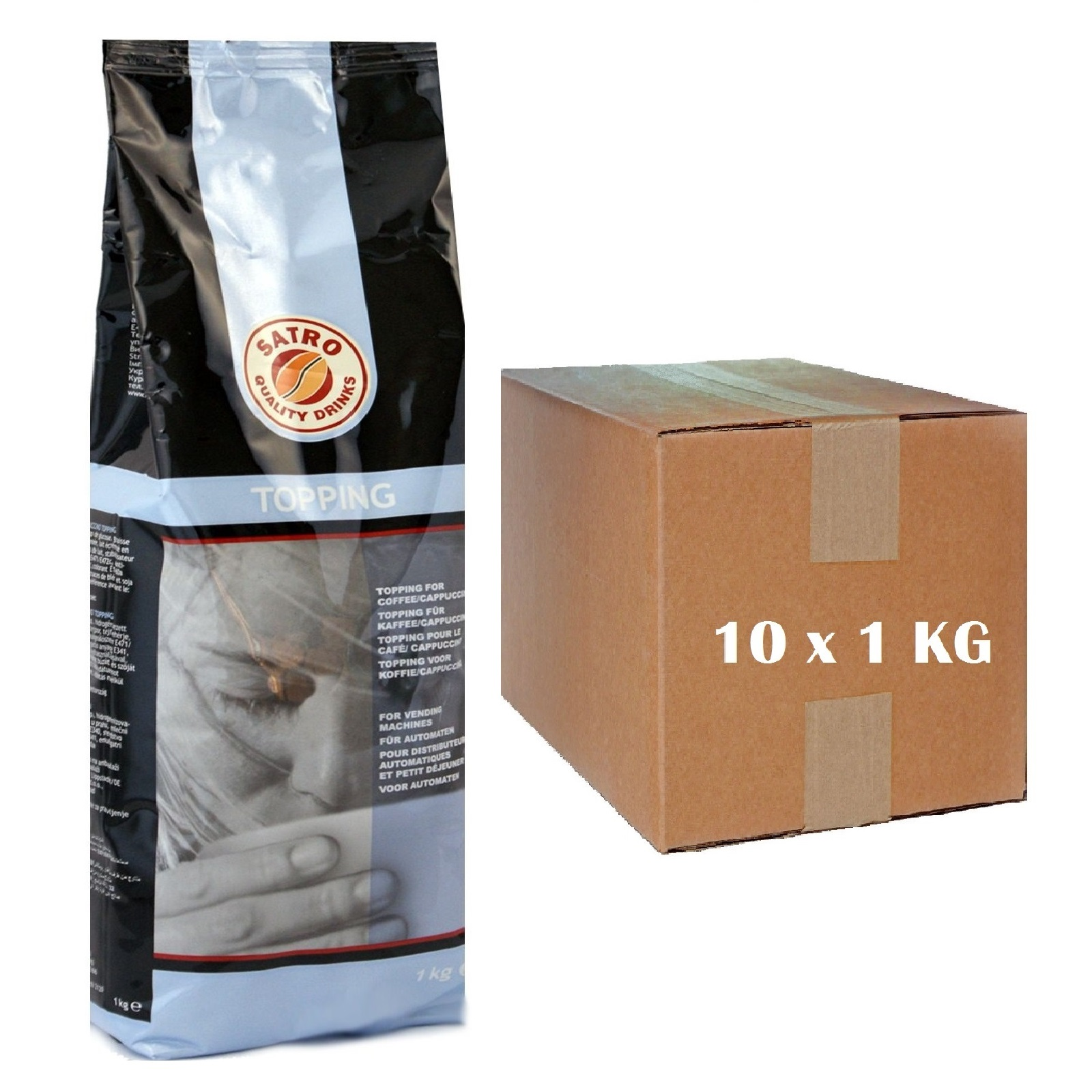 Lavazza Cappuccino Topping Satro CW 07 Milchtopping 10 x 1Kg