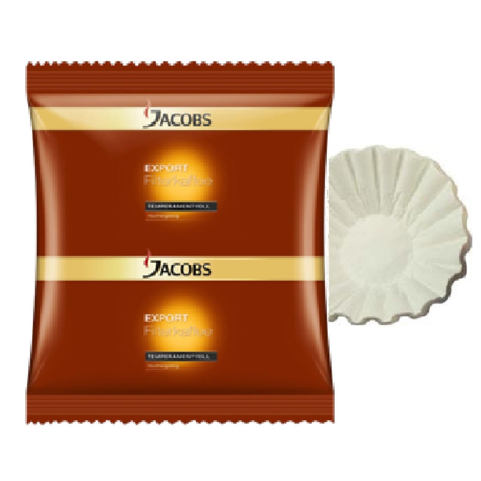 Jacobs Export Temperamentvoll HY 45 x 55g Röstkaffee inkl. 50 Korbfilter