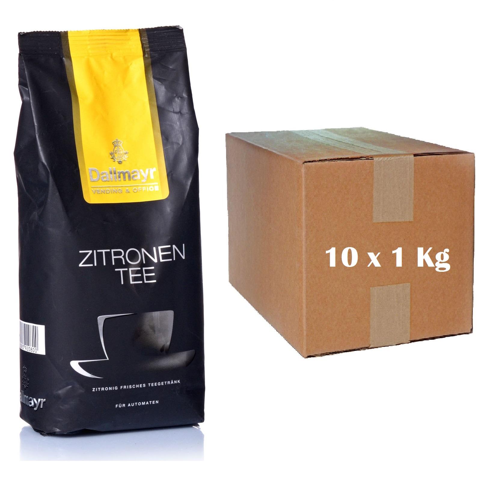 Dallmayr Zitronentee 10 x 1kg Instant