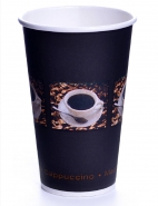 Coffee Bean Becher 33cl Pappbecher 0,3l 50 Stk.