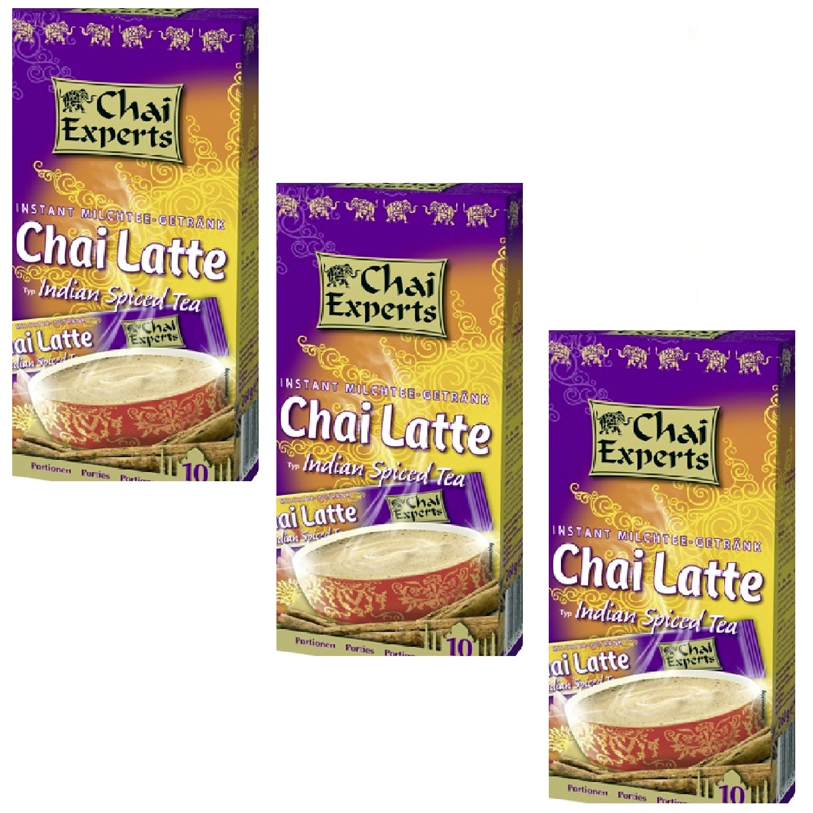 Chai Experts Indian Spiced 160 Sticks á 26g Tassenportion