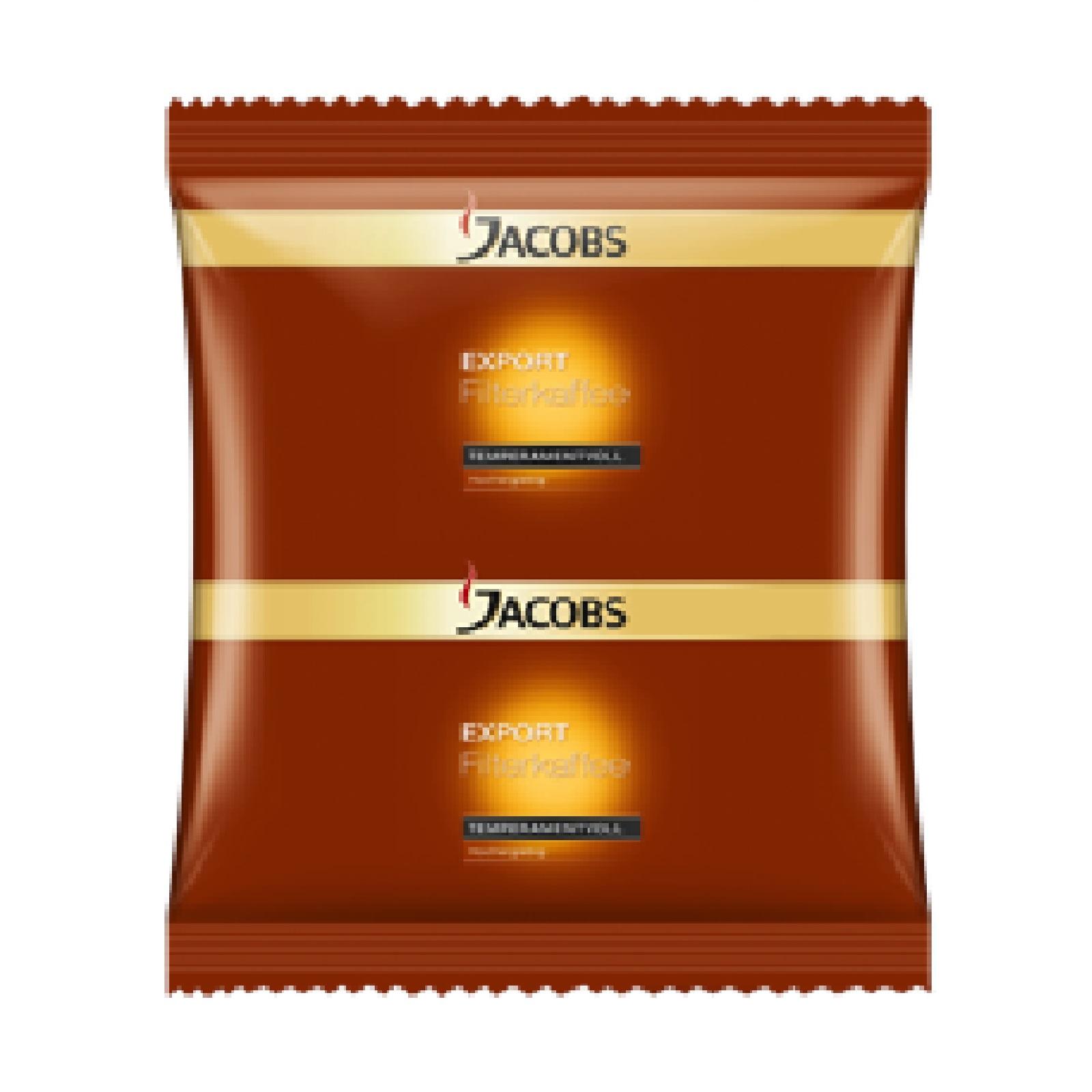 Jacobs Export Temperamentvoll HY 90 x 55g Röstkaffee gemahlen