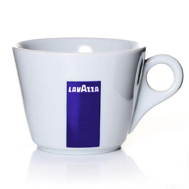 6 Lavazza Milchkaffeetassen mit Untertasse BLU Collection