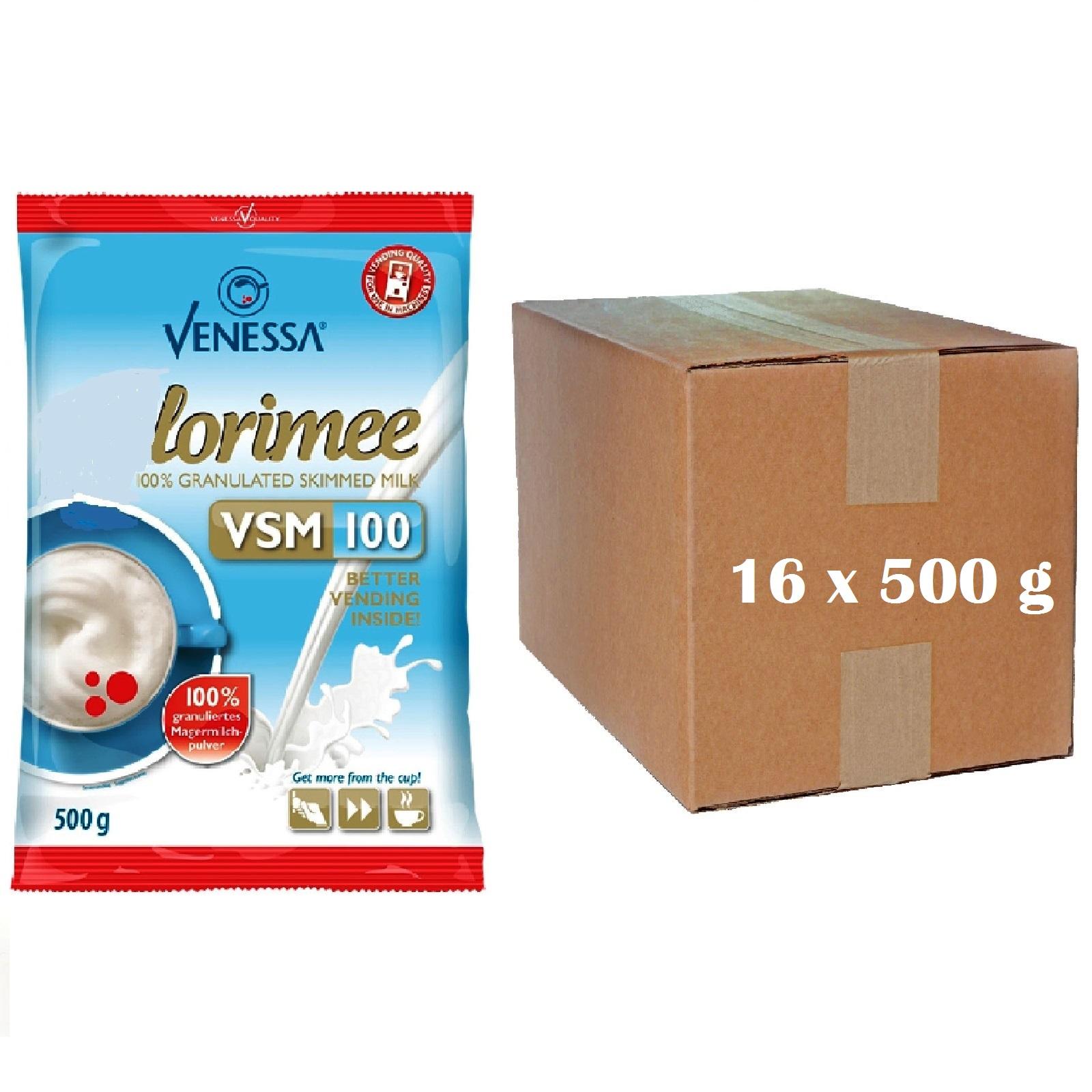 16 x Venessa Lorimee VSM 100 Magermilchpulver 500g Granulat