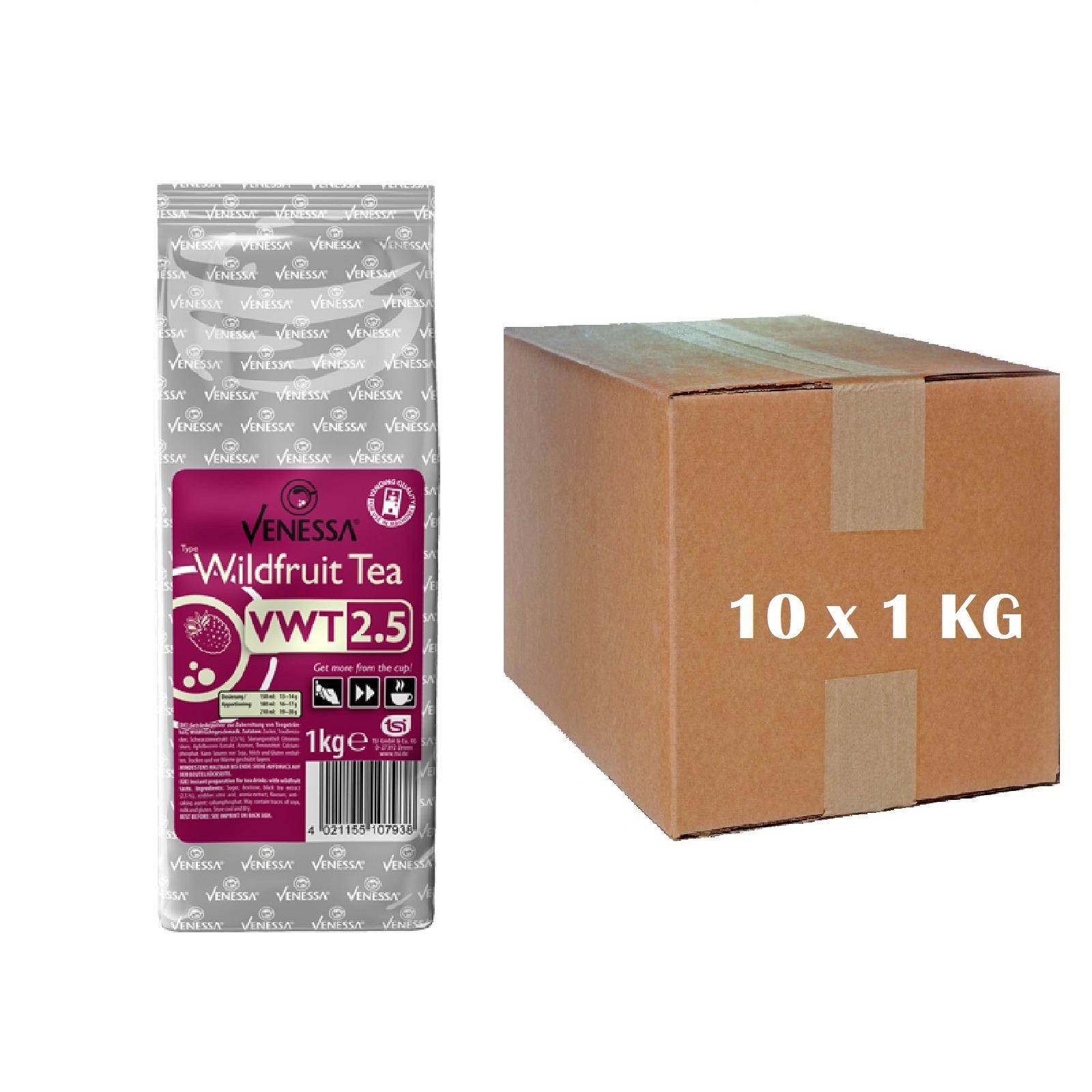 Venessa Wildfrucht Instant-Tee für Automaten 10 x 1kg