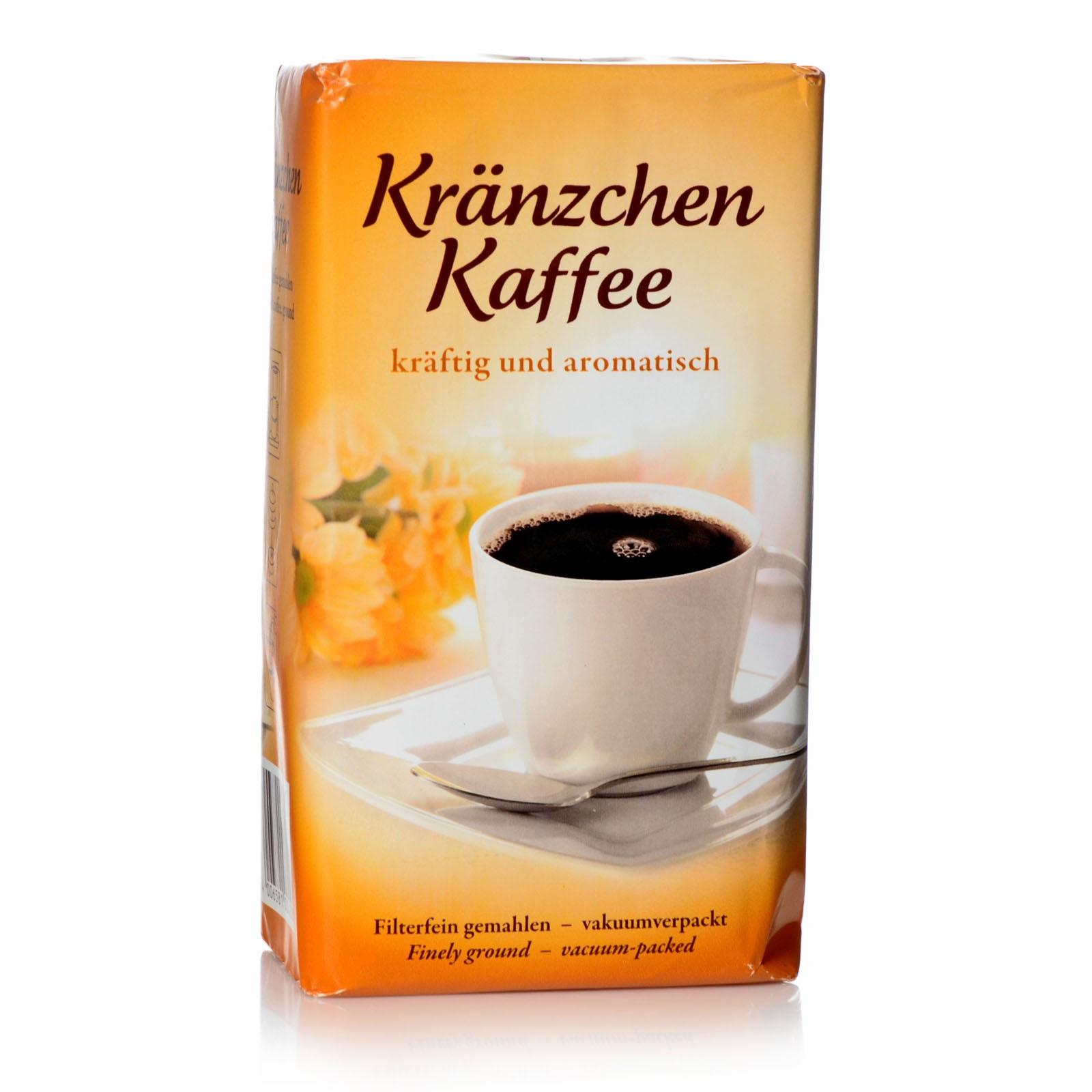 Darboven Kränzchen Kaffee 12 x 500g VP Röst-kaffee gemahlen