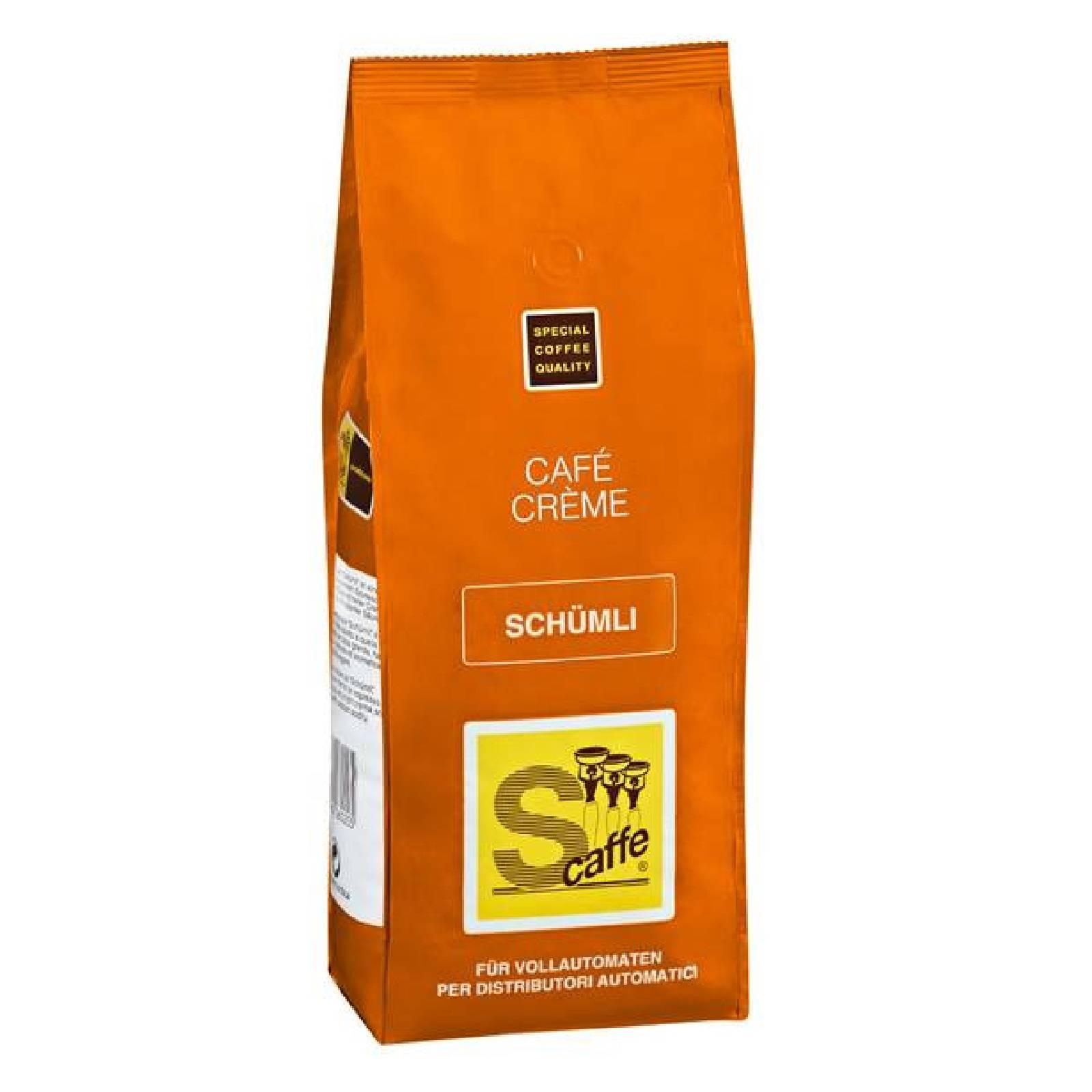 Café Crème Schümli 1000g Kaffee ganze Bohnen