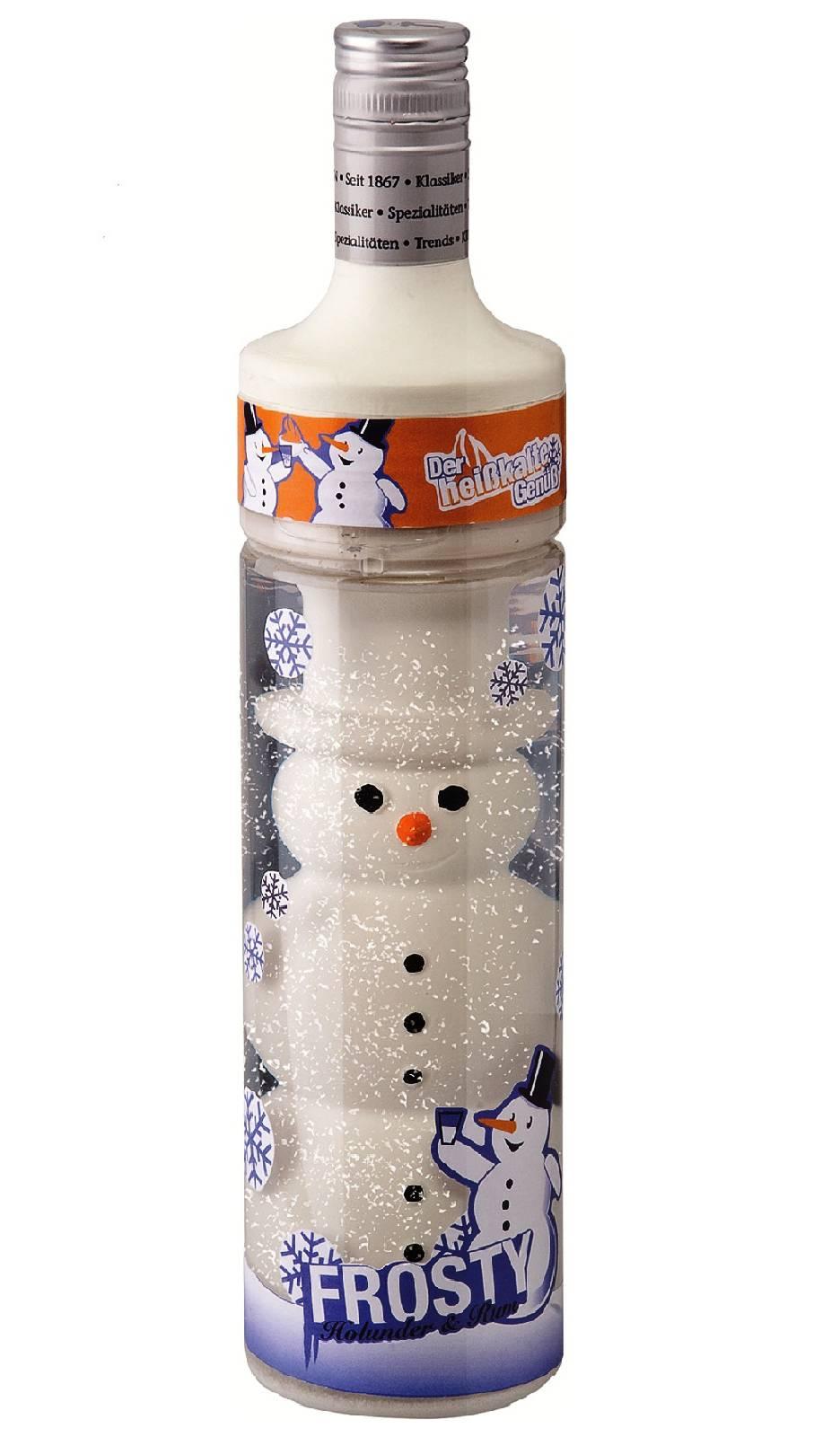 Frosty's Holunder mit Rum Likör 15 % vol Spaßlikör 0,5 l