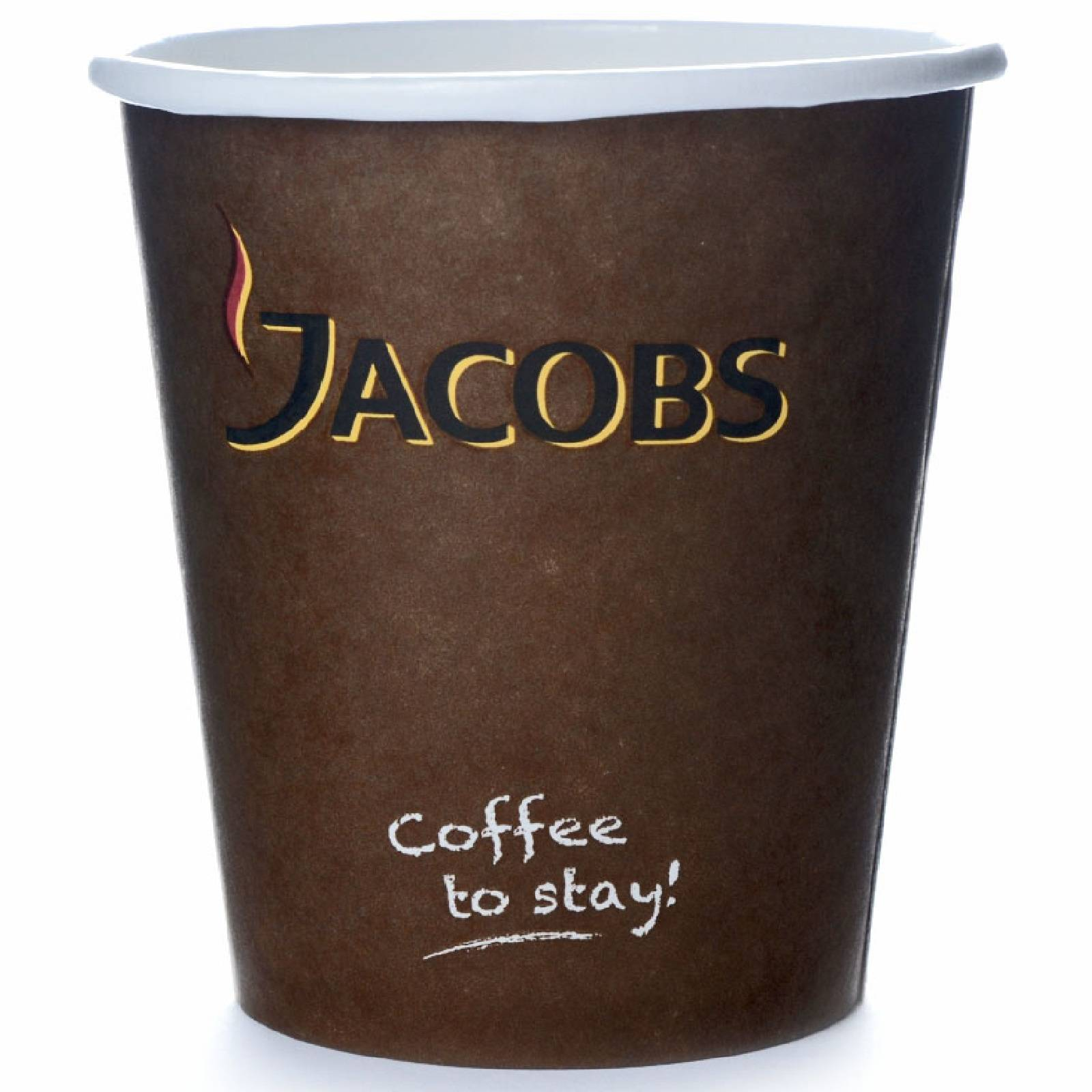 Jacobs Coffee to go Becher 0,3 l Pappbecher 100 Stk.