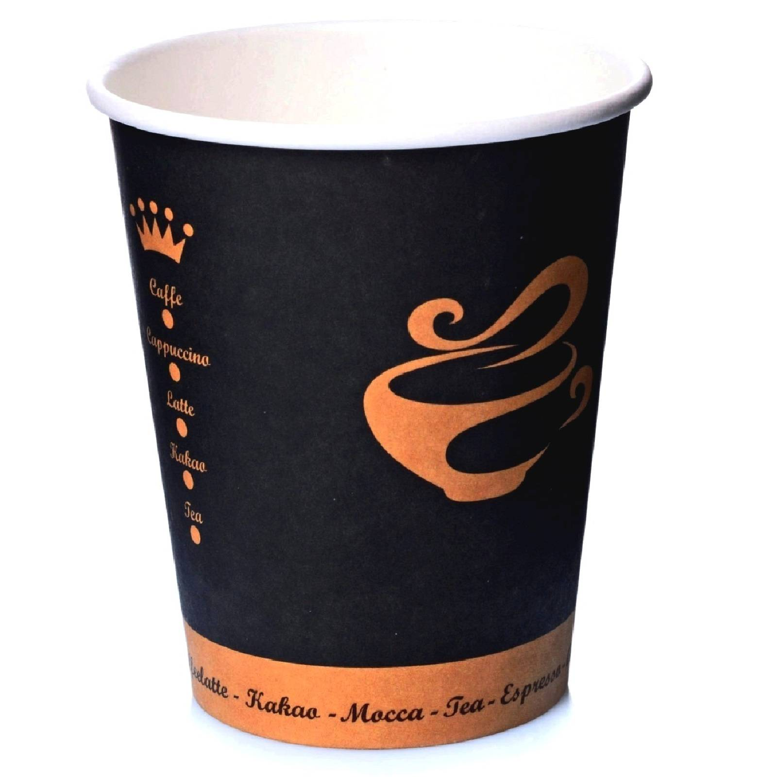Coffee to go Becher 0,4l Pappbecher Golden Cup 50 Stk.