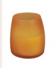 Soft Glow Kerzen Paraffinwachs Orange 50 Stunden Brenndauer