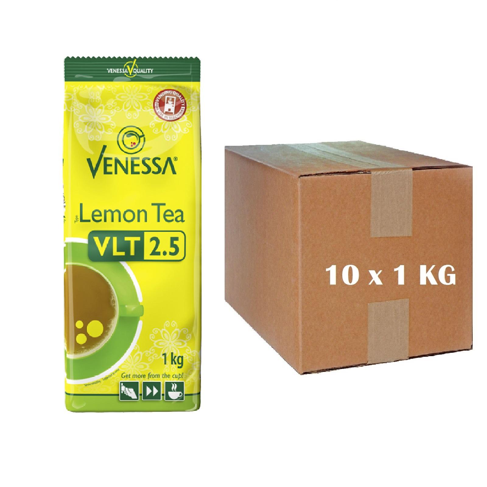 Venessa Lemon Teegetränk 10 x 1kg Automatentee Tee Instant