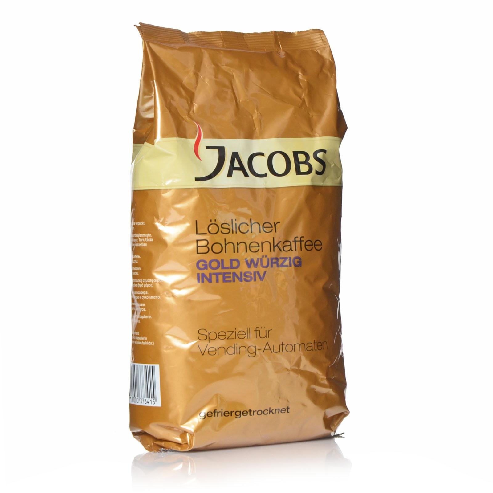 Jacobs Cronat Würzig Instant 500g Löslicher Bohnenkaffee