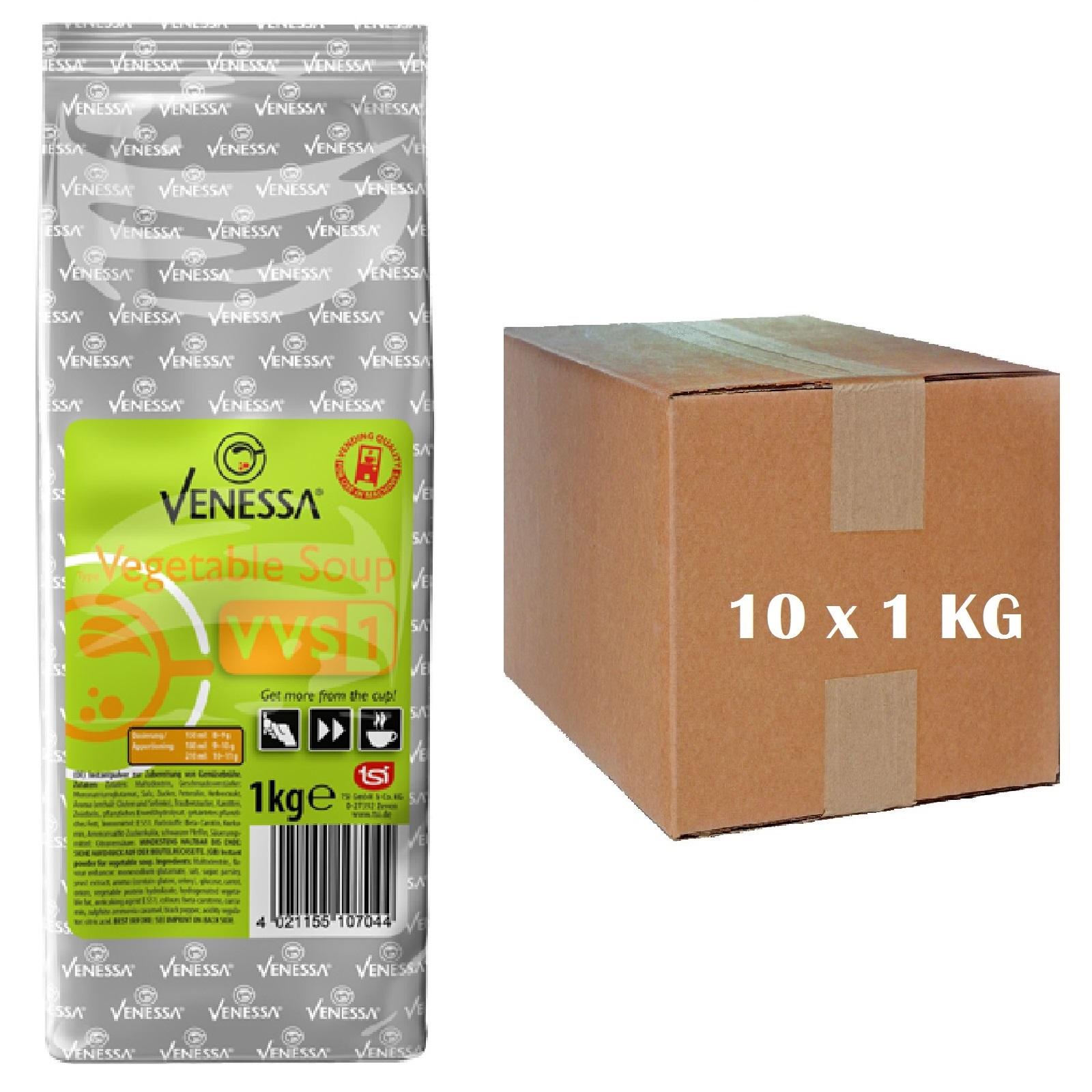 Venessa Vegetable Soup VVS1 Gemüsesuppe 10 x 1kg für Automaten