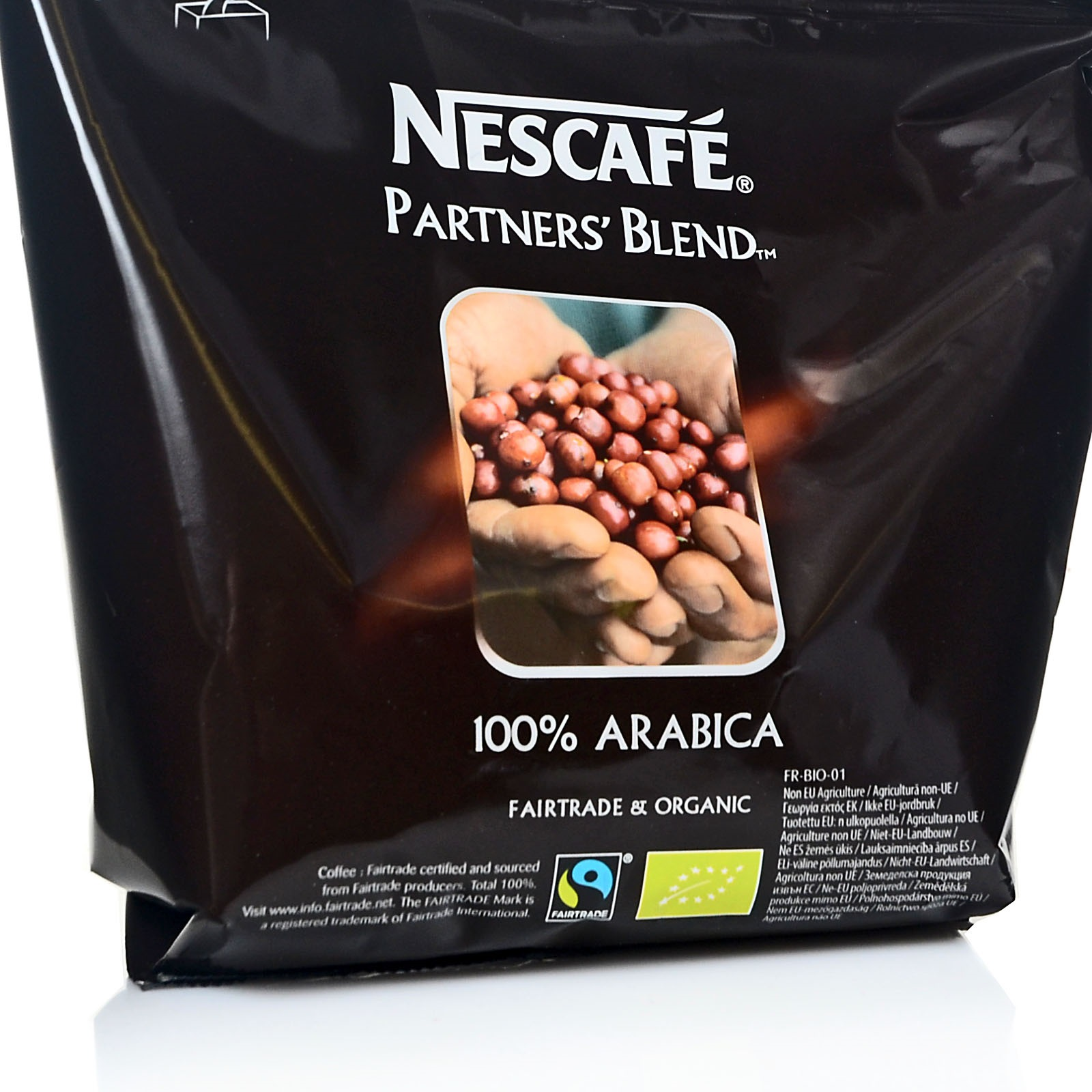 Nestlé Nescafé Partners`Blend 12 x 250g Instant-Kaffee Fairtrade