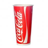 Coca Cola Becher Pappbecher 0,5l - 500ml Kaltgetränke 50 Stk