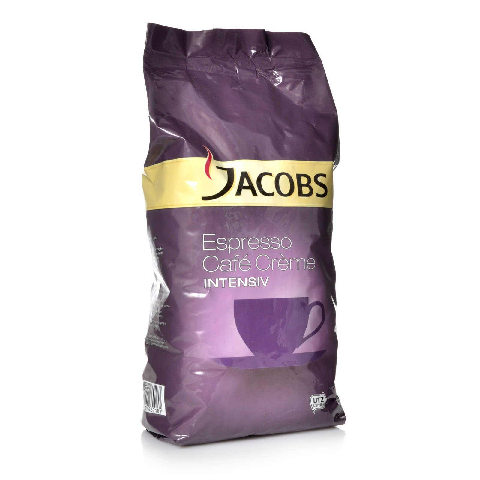 Jacobs Intensiv Espresso Café Créme 1000 g = 1,00 kg ganze Kaffee-Bohne