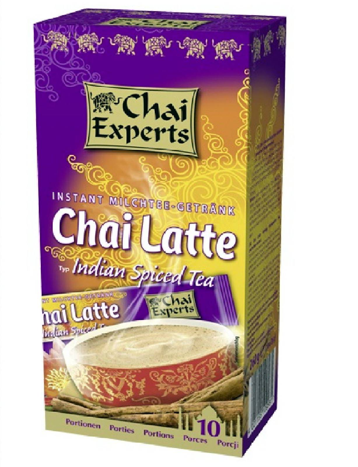 Chai Experts Chai Latte Indian Spiced Tea 10 x 26g