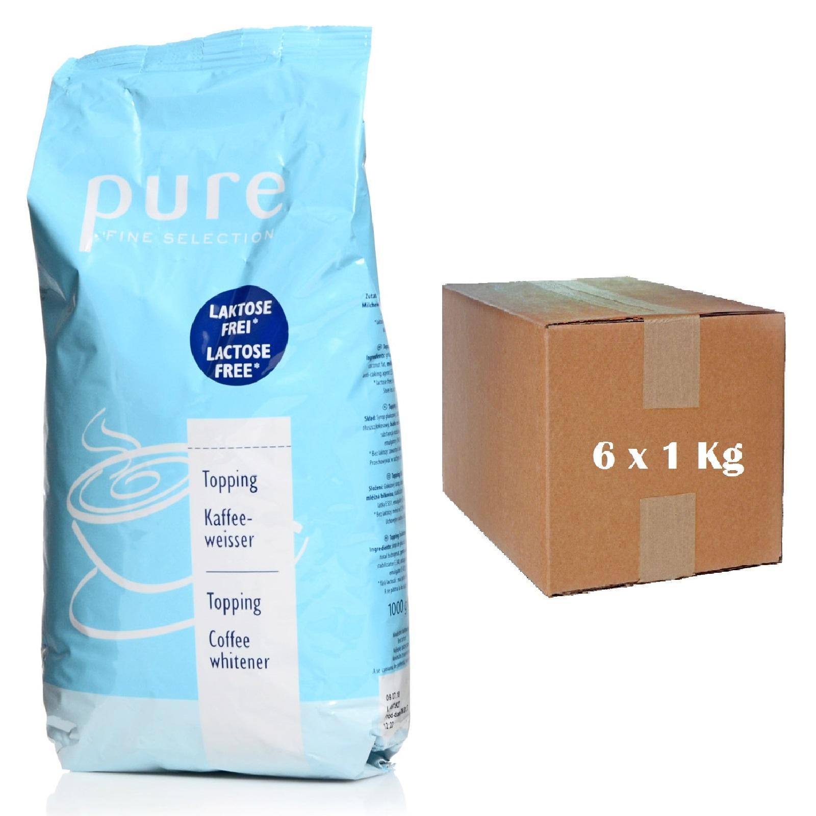 Tchibo Pure Fine Selection Kaffeeweißer 6 x 1Kg Topping laktosefrei