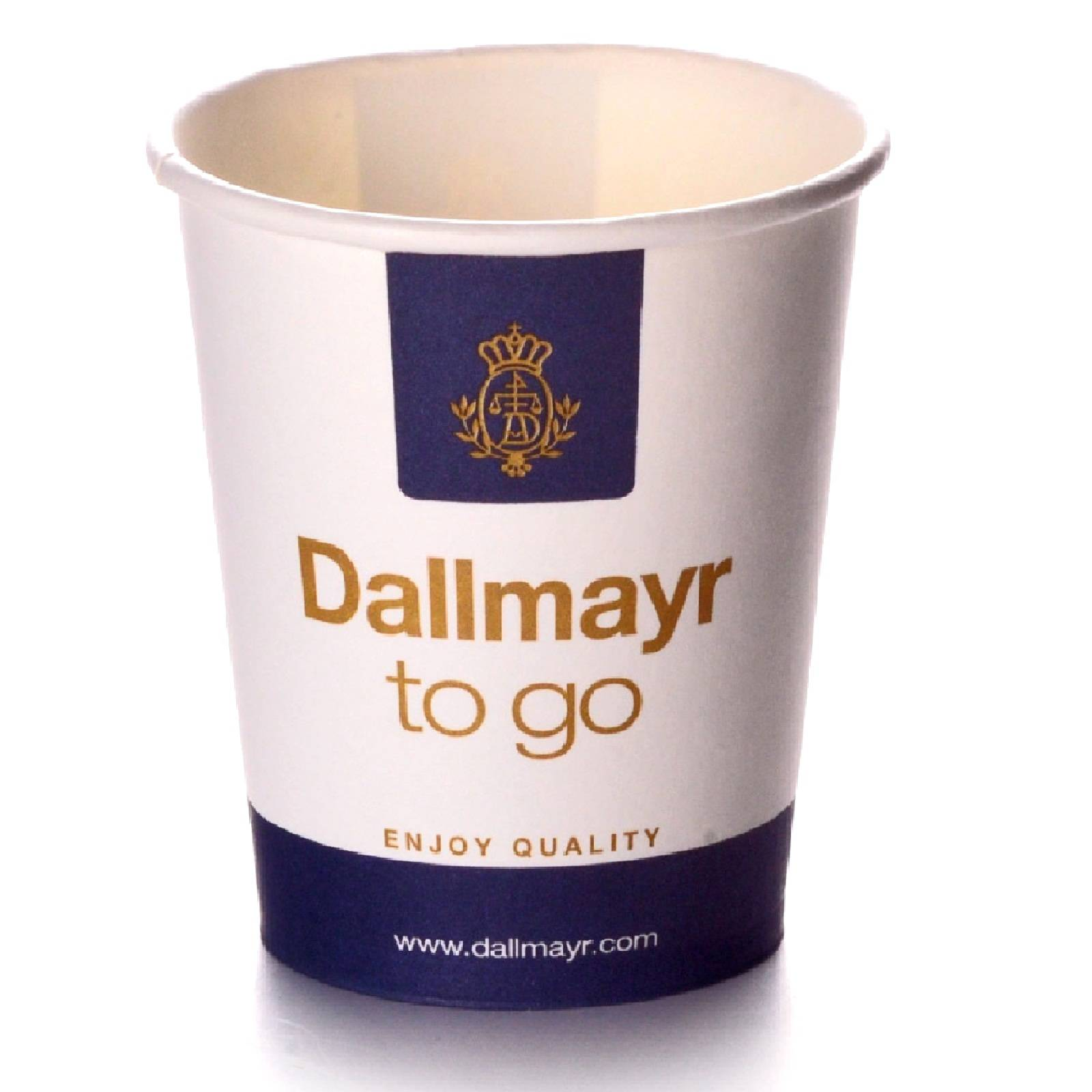 Dallmayr Coffee to go Becher 0,3l Pappbecher 100 Stk.