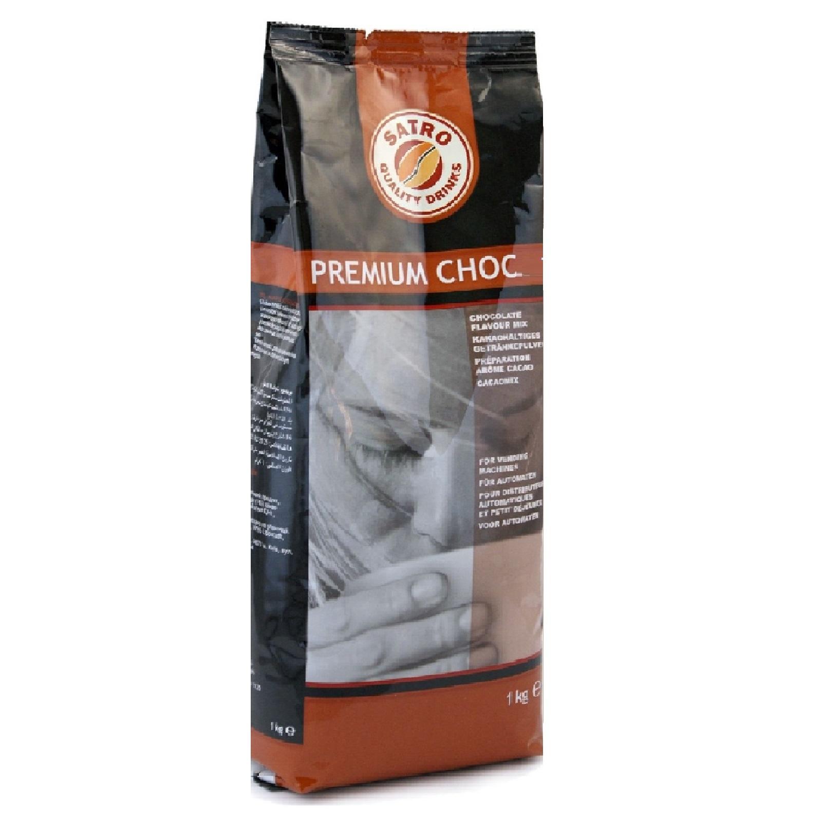 Satro Premium Choc 14 Instant-Kakao 10 x 1kg Vending