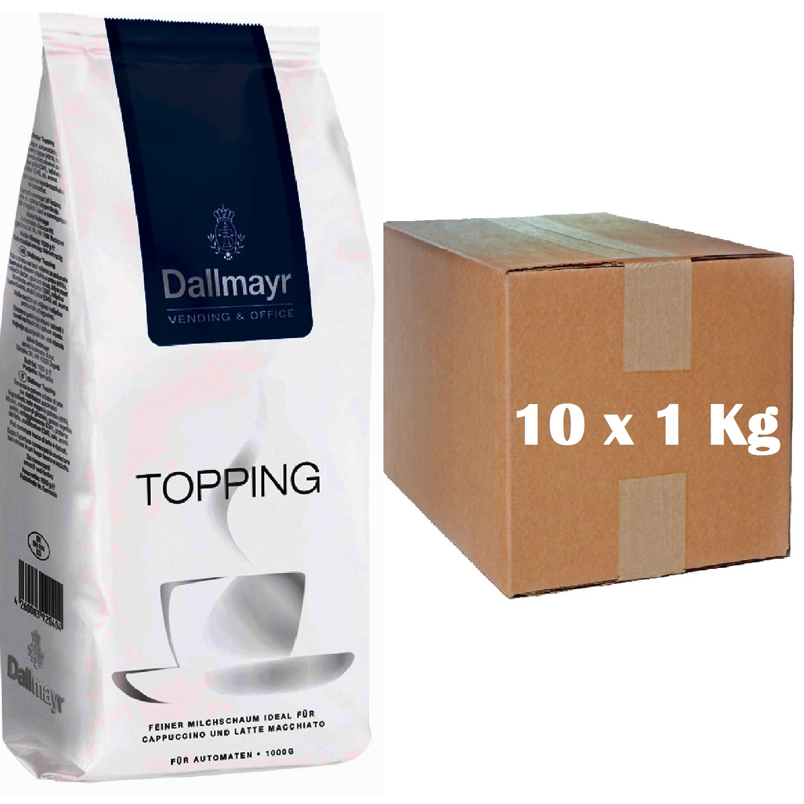 Dallmayr Topping Milchpulver 10 x 1kg Vending