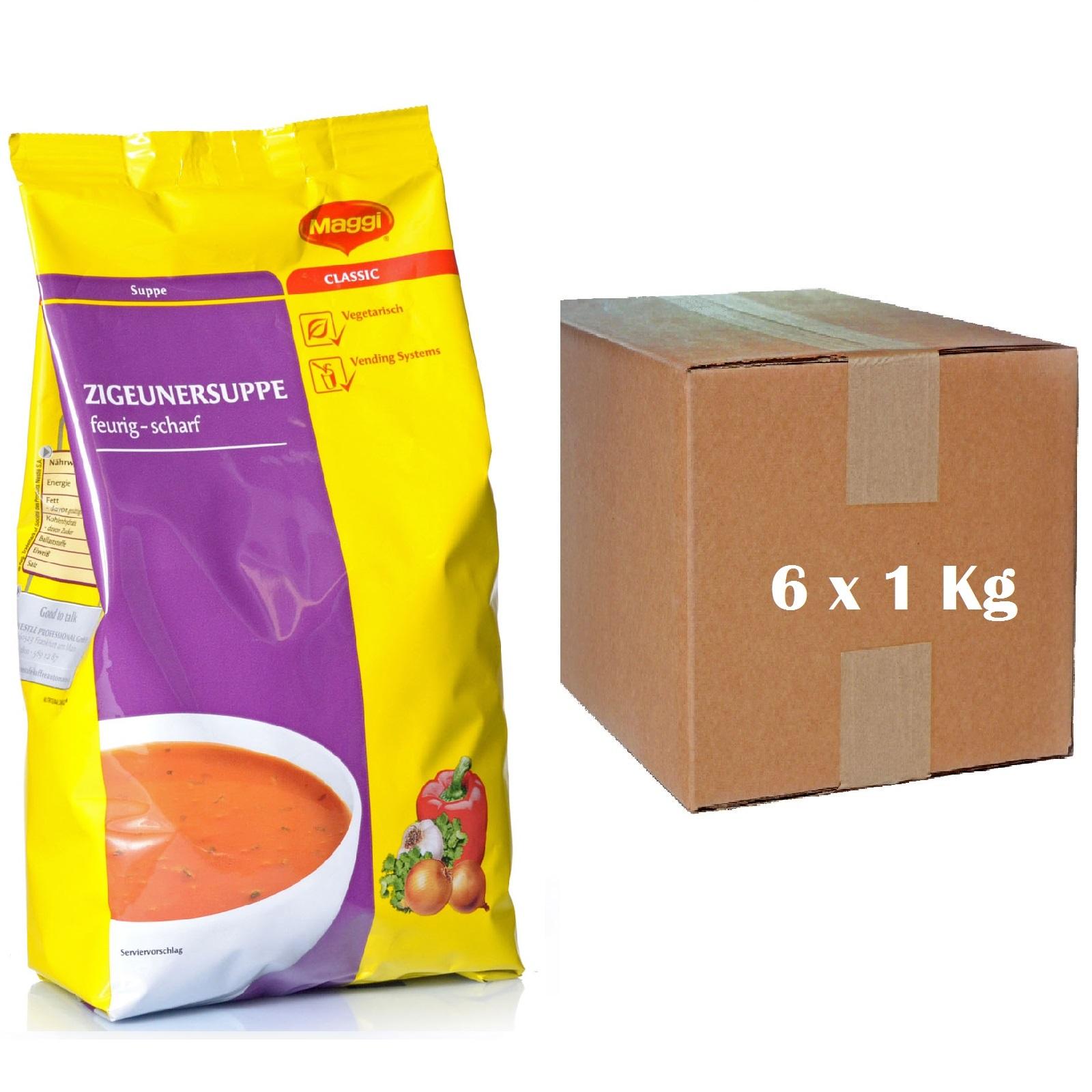 Maggi Zigeunersuppe Nestlé 6 x 1kg Vending