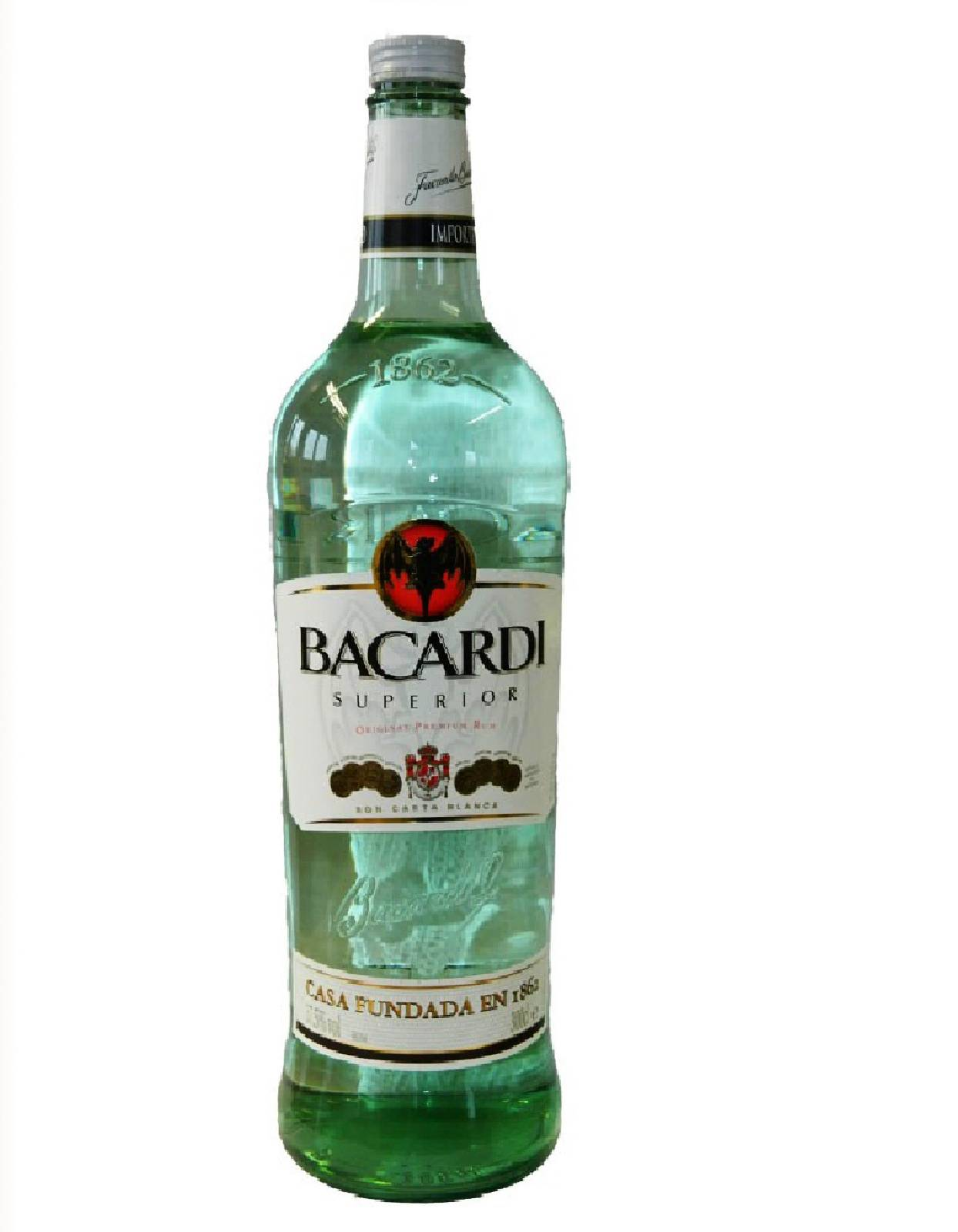 bacardi superior 3 liter flasche rum 37 5 vol magnum. Black Bedroom Furniture Sets. Home Design Ideas
