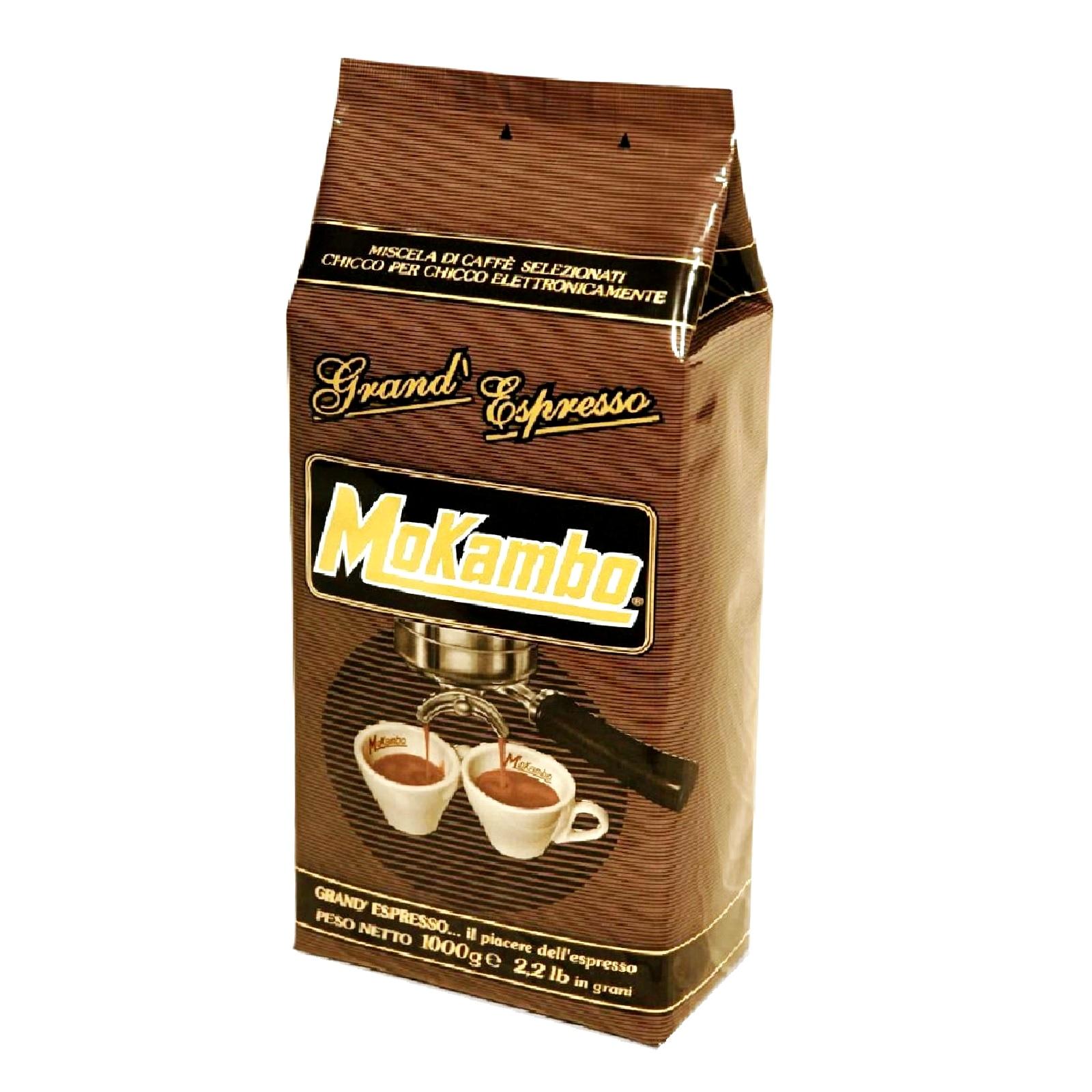 Mokambo Grand Espresso ganze Bohnen 12 x 1Kg