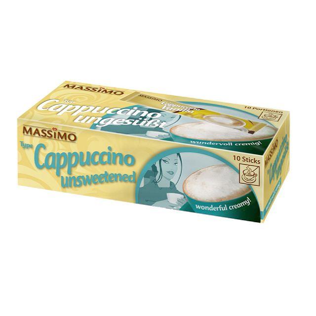MASSIMO Cappuccino Ungesüßt Tassenportionen 10 x 12,5g