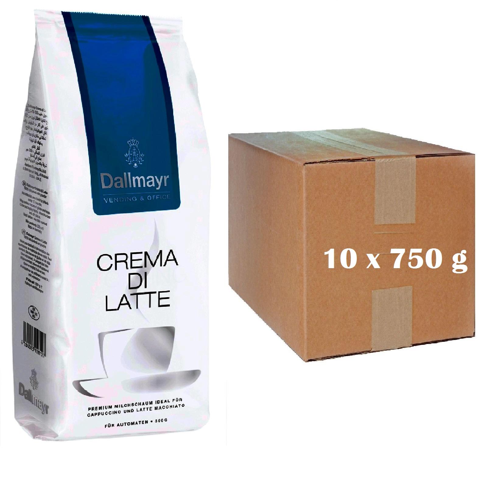 Dallmayr Crema di Latte Topping Milchpulver 10 x 750g