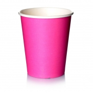 Coffee to go Becher 0,2l Pink 24cl Pappbecher 50 Stk.