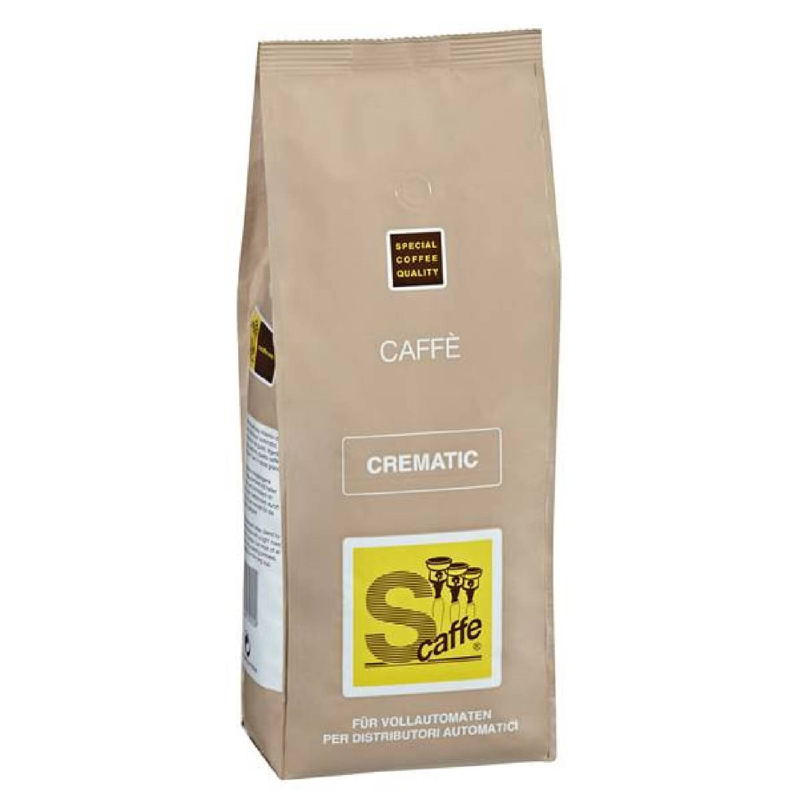 Café Crème Crematic 1000g Kaffee ganze Bohnen
