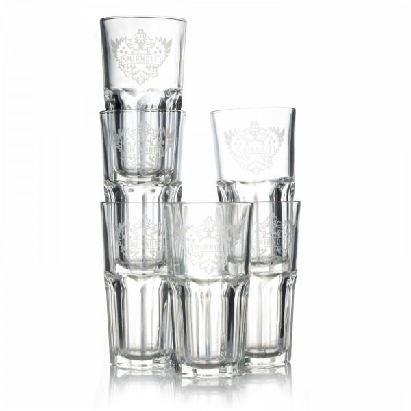 smirnoff-glas-vodka-glaeser-wappen-6-stueck