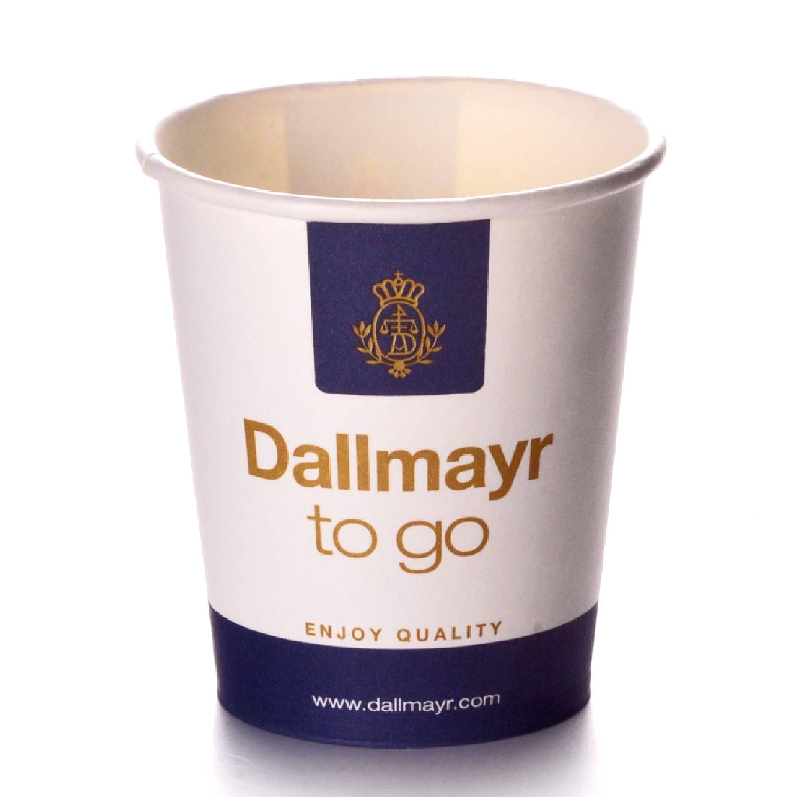 Dallmayr Coffee to go Becher 0,2l Pappbecher 50 Stk.