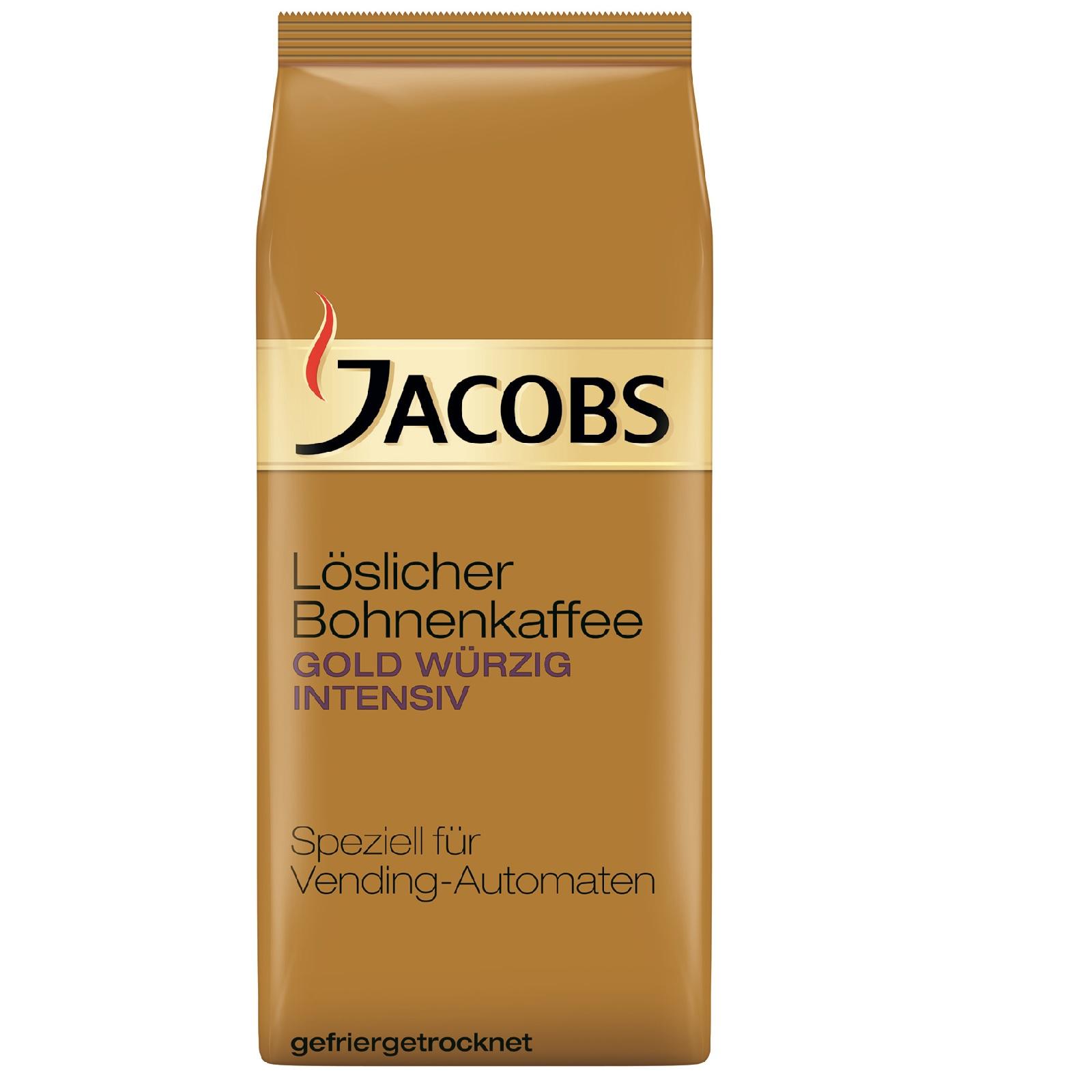 Jacobs Gold würzig Intensiv 8 x 500g Instant-Kaffee