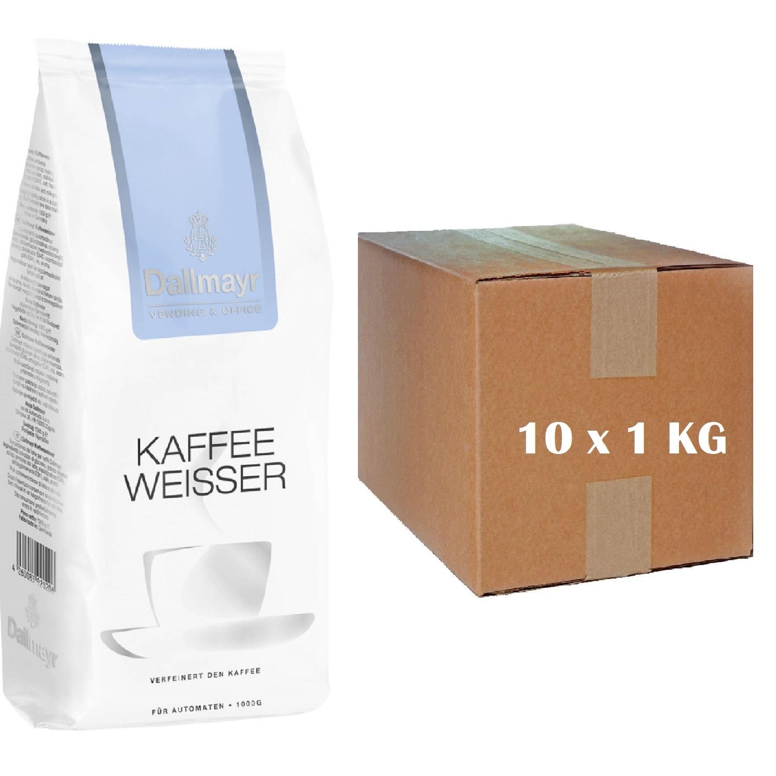 Dallmayr Kaffeeweisser 10 x 1Kg Milchpulver Vending