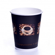 Coffee Bean Becher 24cl Pappbecher 0,2l 50 Stk.