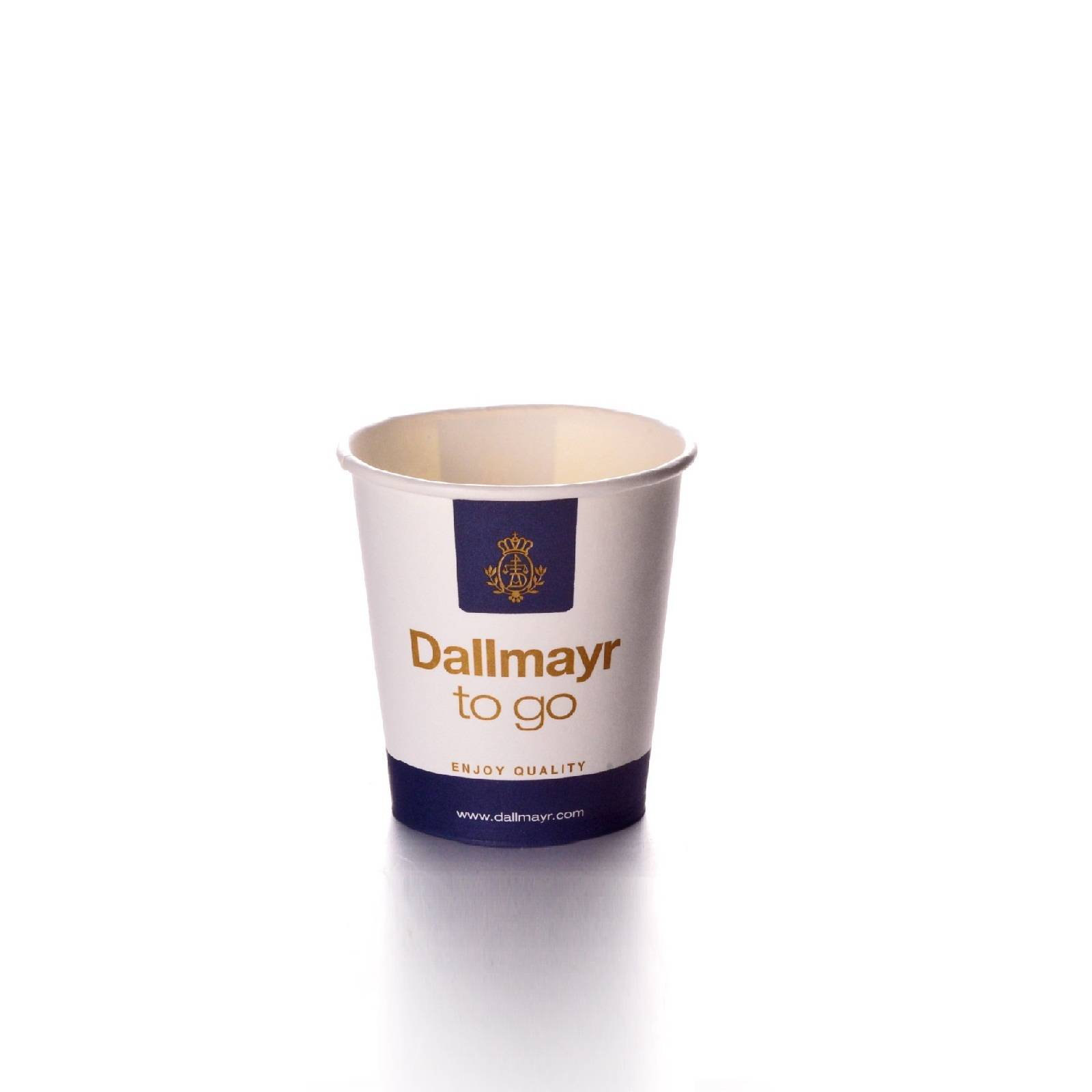 Dallmayr Coffee to go Becher 50 Espressobecher 0,1l