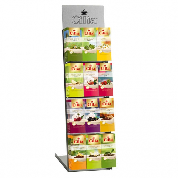 Cilia Sortimentskarton Tee 6 Teesorten 150 Aufgussbeutel