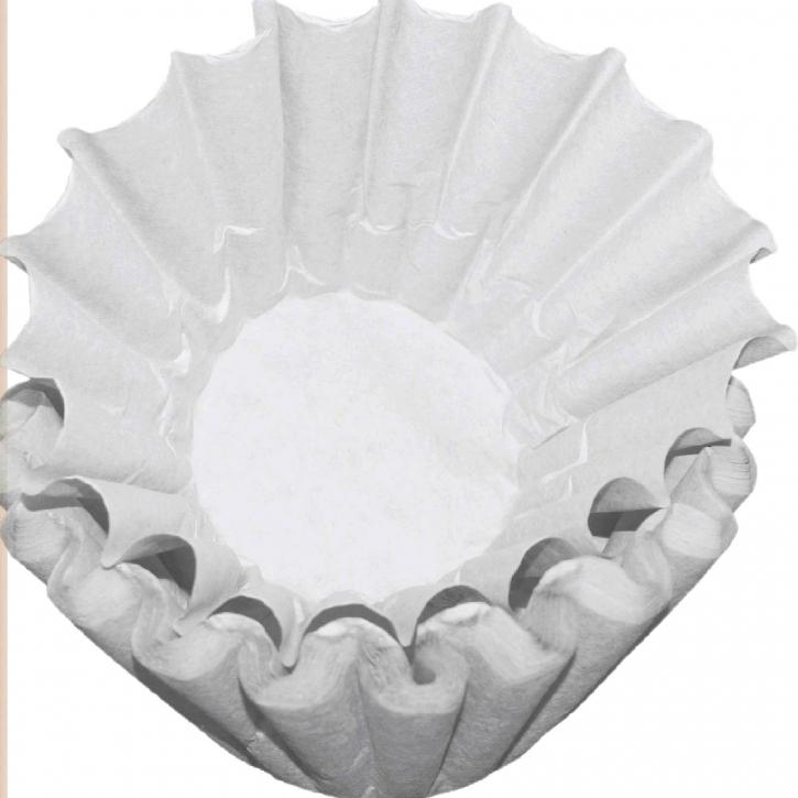 Bonamat Bravilor Korbfilter Weiß 50 Kaffeefilter Th Serie