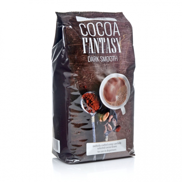 Jacobs Cocoa Fantasy Dark Smooth Kakao 2Kg Beutel (ehemals Suchard Caona) Jumbo-Tüte