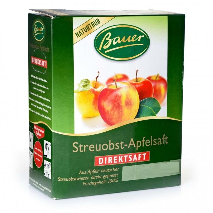 Apfelsaft Naturtrüb Streuobst Bauer Direktsaft 3l Bag-in-Box