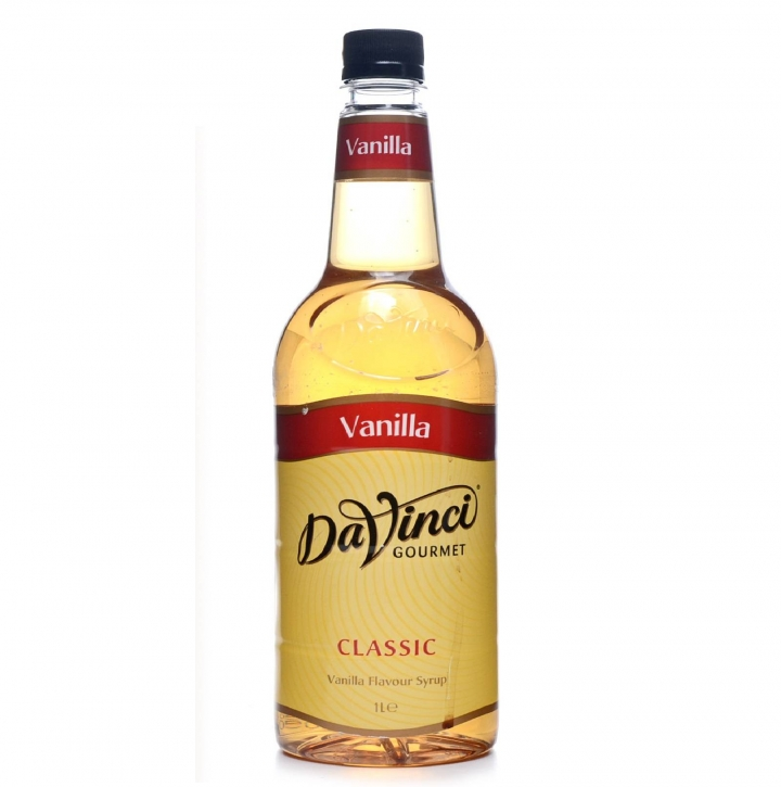 Da Vinci Gourmet Flavour Sirup Vanilla 1 Liter