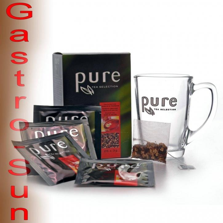 Pure Tea Selection Tchibo Pure Tea Früchtetee mit Himbeere und Hibiskus 6 x 25