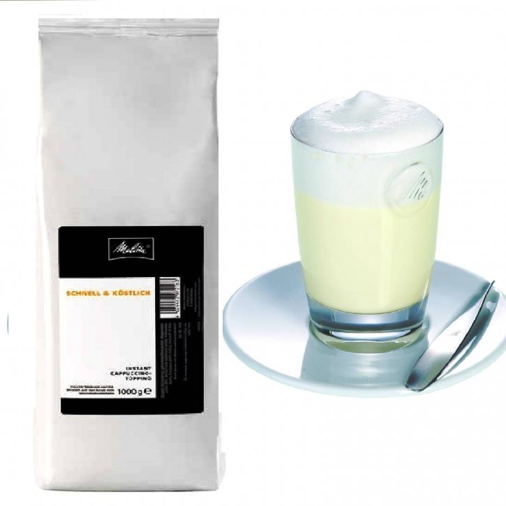 Melitta Cappuccino Topping Milchpulver 10 x 1000g